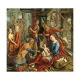 The Adoration of the Magi  Central Panel  C1560