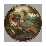 It Is Too Late to Fill in the Well after the Calf Has Drowned  C1594