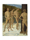 A Fragment: Four Male Nude Figures  C1505