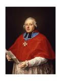 Etienne-René  Cardinal Potier De Gesvres  1758