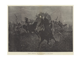 North American Indians Attacking a Mail Coach