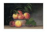 Still-Life with Peaches  C1816
