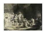 Christ Healing the Sick: the 'Hundred Guilder Print'  C 1649