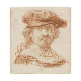 Self-Portrait  C1637 (Red Chalk)
