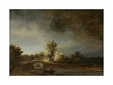 Landscape with a Stone Bridge  C1638