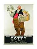 Poster Advertising the 'Cotty Moving Co'