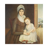 Mrs Daniel Truman and Child  C1798-1810