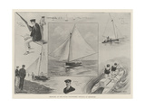 Sketches at the Naval Volunteers' Regatta at Brighton