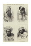 Men of Different Afghan Tribes