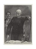 Prince Bismarck Addressing the German Reichstag