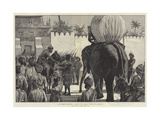 The Burmah Expedition  Entry of the British Troops into Mandalay