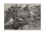 The Matabili War in South Africa  Attack on the Laager of Wagons