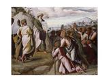 Moses Presenting the Ten Commandments