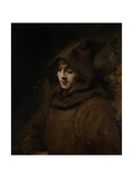 Rembrandt's Son Titus in a Monk's Habit  1660
