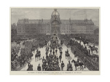 The Funeral of Marshal Macmahon in Paris  Arrival of the Procession at Les Invalides