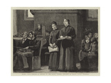 Blind Girls Singing  a Sketch at the Royal Normal College of Music  Upper Norwood