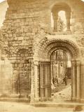 Church Ruins with Three Men