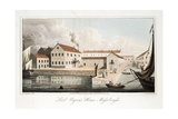 Lord Byron's House at Missolonghi  from the Last Days of Lord Byron by William Parry  Pub 1825