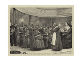 Our London Poor  a Tea to Seven Hundred Tramps and Beggars in Moorgate Street Hall