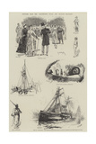 Sketches from the Illustrated Naval and Military Magazine
