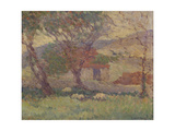 In the Downs Near Lewes  1906