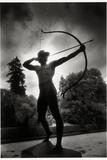 Bronze Archer  Sanssouci Park  Potsdam  Germany