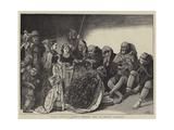 Royal Humility  Washing Beggars' Feet on Maundy Thursday