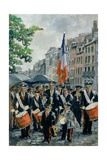 Town Hall Band  14th July  Honfleur  France  1997