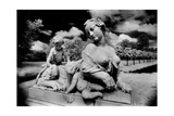 Sphinx with Two Putti  Potsdam  Germany