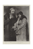 Shylock and Jessica  in the Exhibition of the Royal Institute of Painters in Water Colours