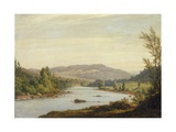 Landscape with River (Scene in Northern New York)  1849