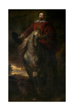 Equestrian Portrait of the Painter Cornelis De Wael