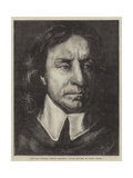 The Late National Portrait Exhibition  Oliver Cromwell