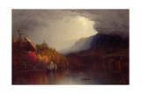 Study of a Coming Storm on Lake George  1863