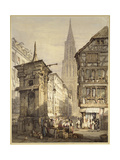 A View in Strasbourg  1822