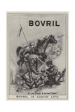 Advertisement  Bovril