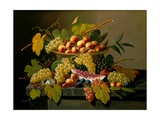 Still Life with a Basket of Fruit  19th Century