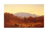 Twilight on Hunter Mountain