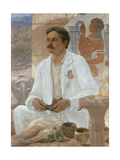 Sir Arthur Evans Among the Ruins of the Palace of Knossos  1907