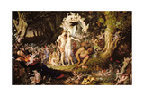 The Reconciliation of Oberon and Titania  1847