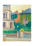 Suburban Street  1913-14