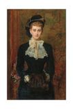 Countess De Pourtales  the Former Mrs  1876