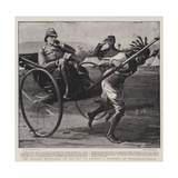Sir William Maccormac on His Way to Inspect a Hospital at Pietermaritzburg