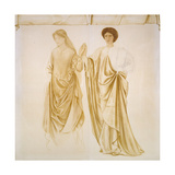 The Two Wives of Jason  before 1872 (Watercolour and Bodycolour over Black Chalk on Paper)