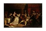 The Murder of David Rizzio  1833