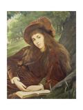 Portrait of Anna Maria 'Nettie' Jameson  Nee Davies