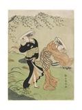 Two Women in High Wind  C 1767
