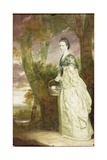 Portrait of Mrs Elizabeth Riddell  1763