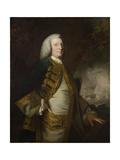 Portrait of George Anson  1st Baron Anson  C1754-55