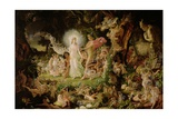The Quarrel of Oberon and Titania  1849